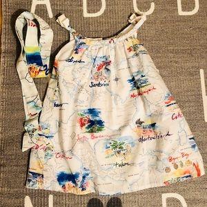 Gap summer vacation cotton dress